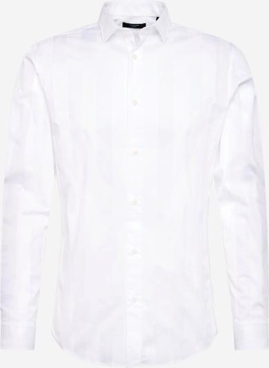 Cămaşă business 'PRTONE' JACK & JONES pe alb, Vizualizare produs