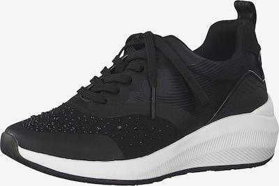 TAMARIS Sneakers laag in de kleur Zwart / Wit, Productweergave