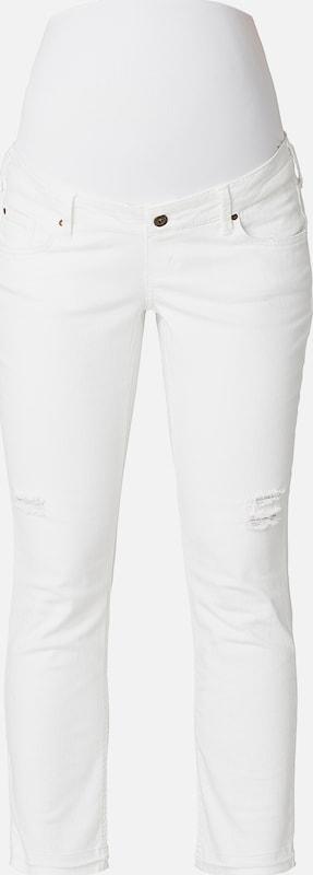 QUEEN MUM Umstandsjeans in weiß  Neue Kleidung in dieser Saison