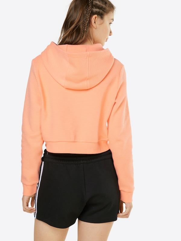 ADIDAS ORIGINALS Cropped Sweatshirt 'EQT'