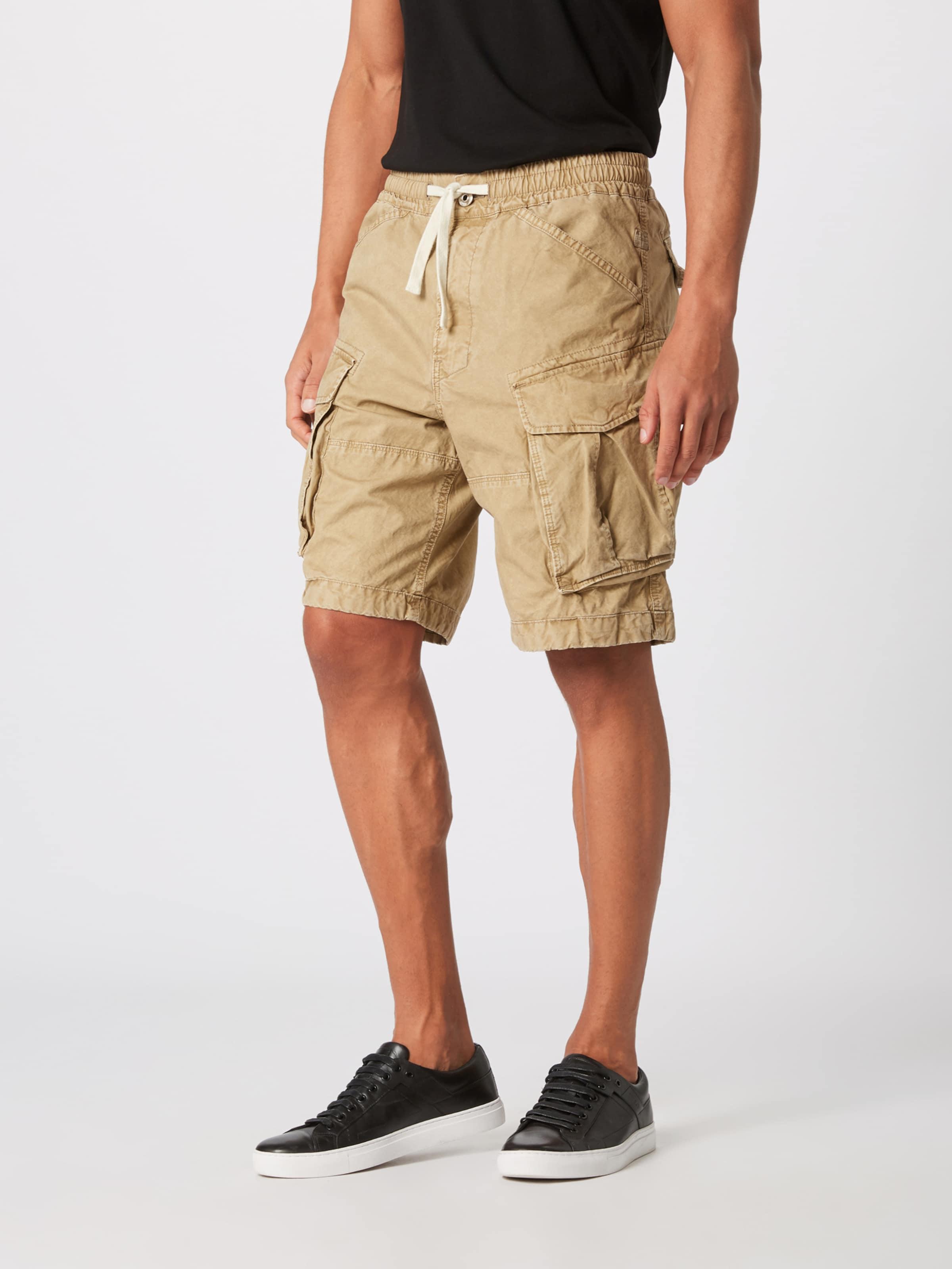 star Raw G 'rovic' Shorts In Beige 0OkwPnX8