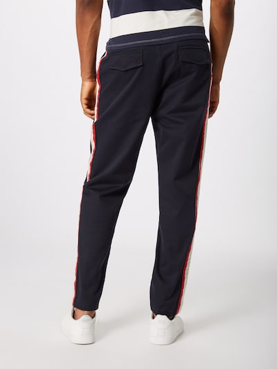 The Kooples Pantalon 'PANTALON' en bleu marine: Vue de dos