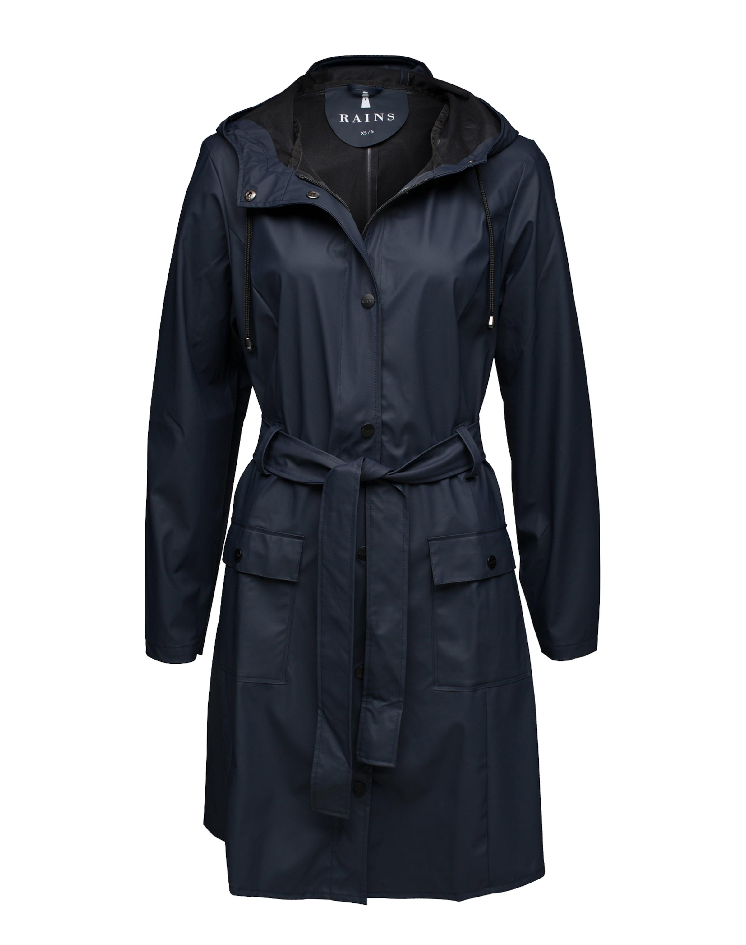 En Rains Fonctionnel Marine Bleu Manteau N8Pk0ZOnwX