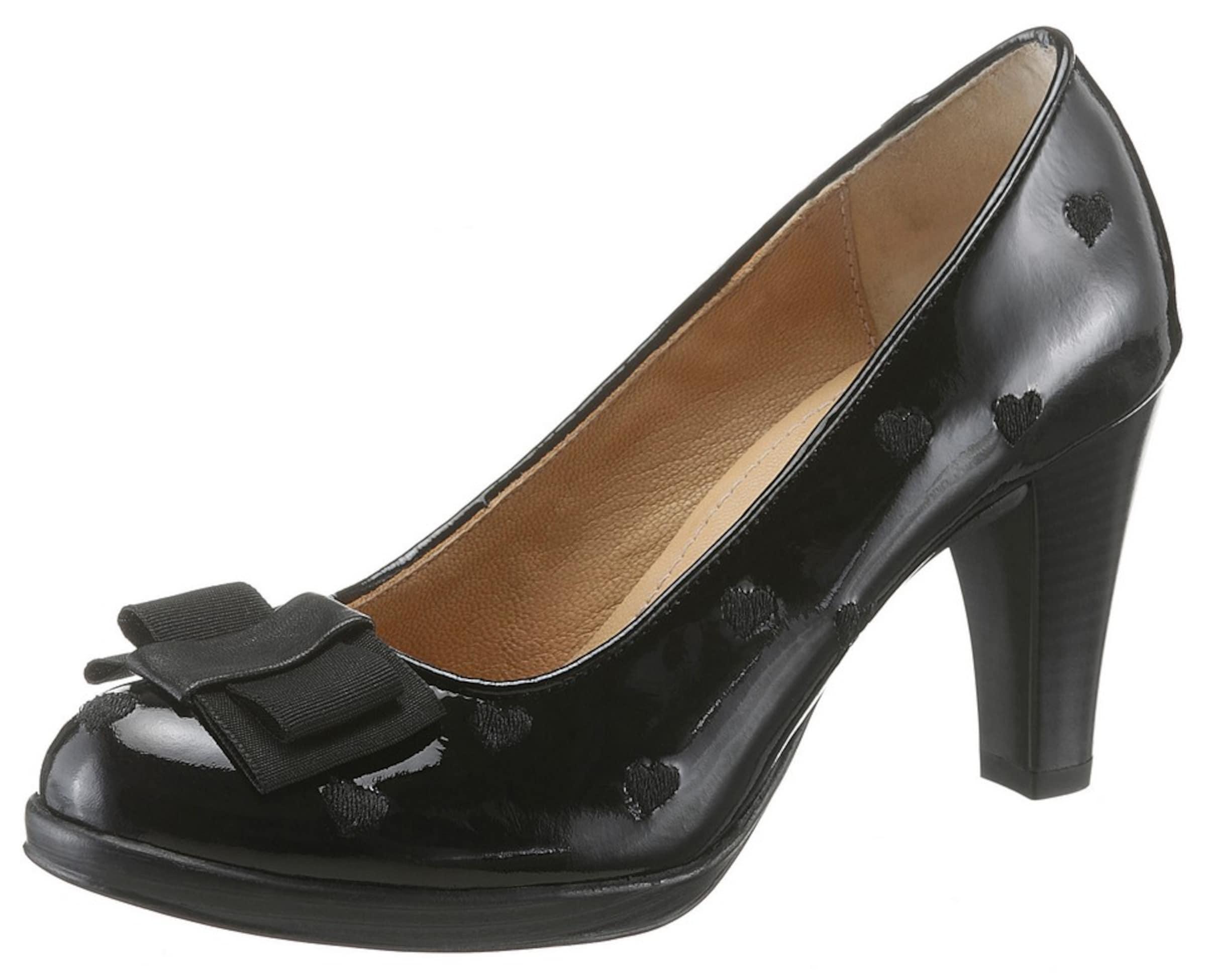 SPIETH & WENSKY | Trachtenpumps mit Schleife Schuhe Gut getragene Schuhe