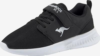 KangaROOS Sportschuh in schwarz / weiß, Produktansicht