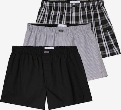 Calvin Klein Underwear Boxer in grau / hellgrau / schwarz, Produktansicht