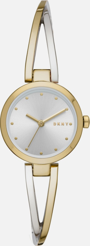 DKNY Uhr 'NY2790' in gold / silber: Frontalansicht