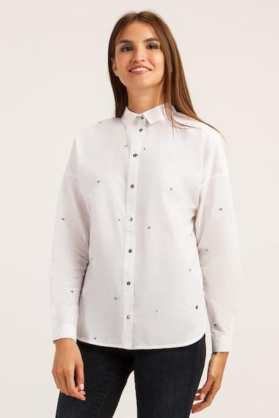 Finn Flare Bluse in weiß, Modelansicht