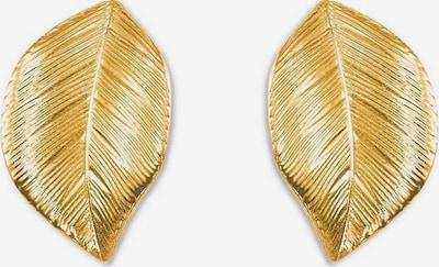 AMOR Ohrstecker 'Blätter' in gold, Produktansicht