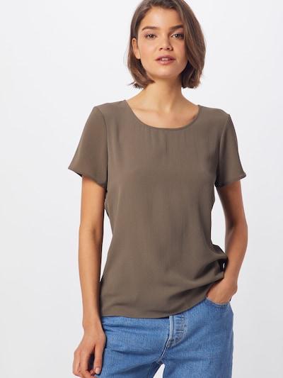 VERO MODA Blusenshirt in braun / taupe, Modelansicht