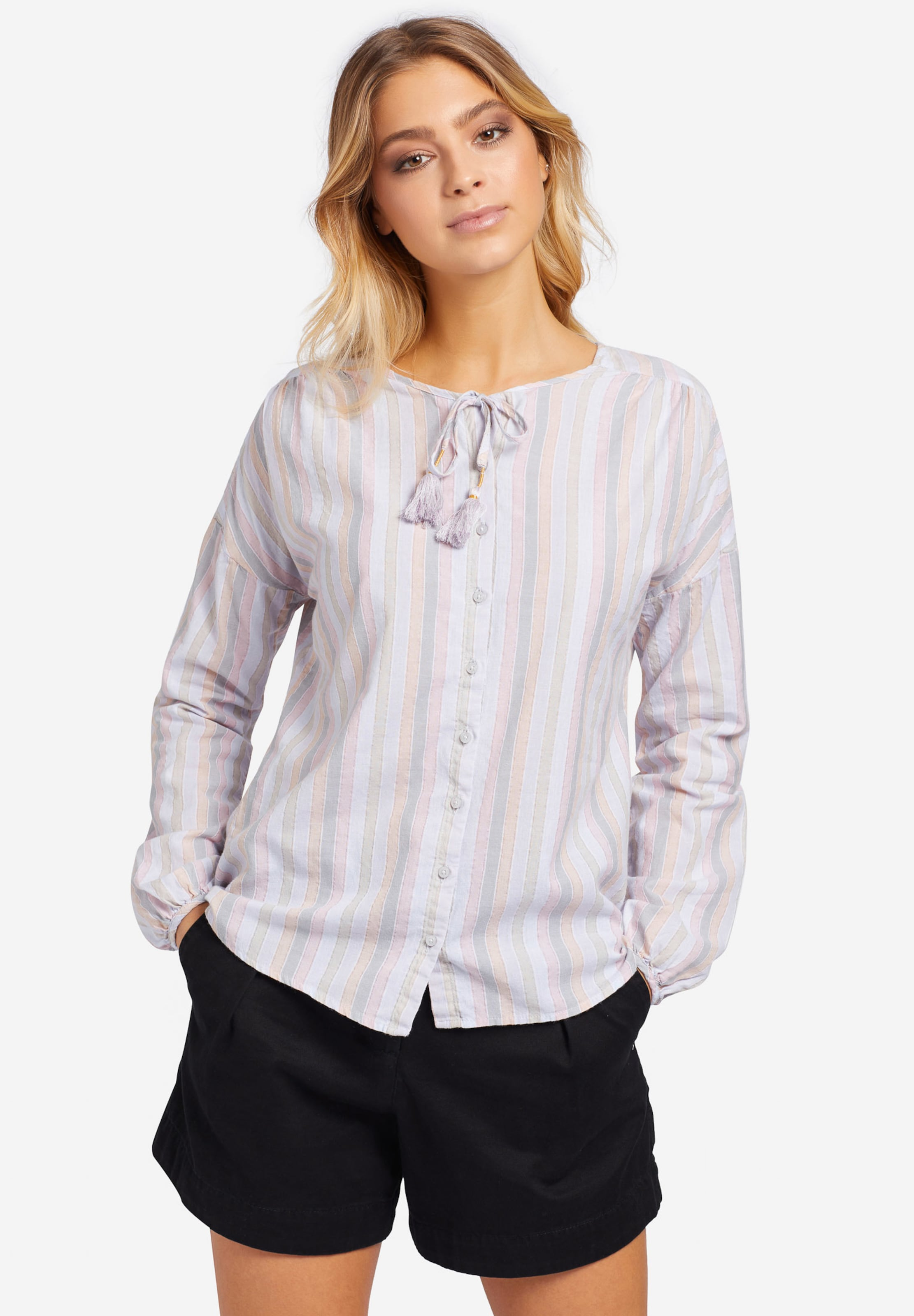 Khujo Pastellpink In Bluse PastellgrünPastelllila 'angele' Pastellorange AjL54R