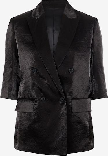 J.Lindeberg Zeppelin Glossy Blazer in schwarz, Produktansicht