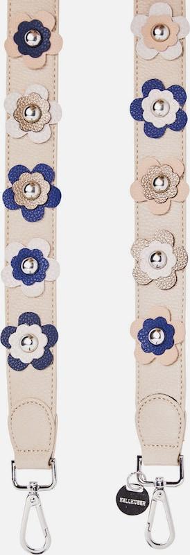 HALLHUBER Schulterriemen mit Blüten & Nieten