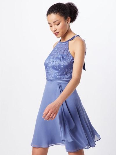 VM Vera Mont Kleid in royalblau / dunkelblau, Modelansicht