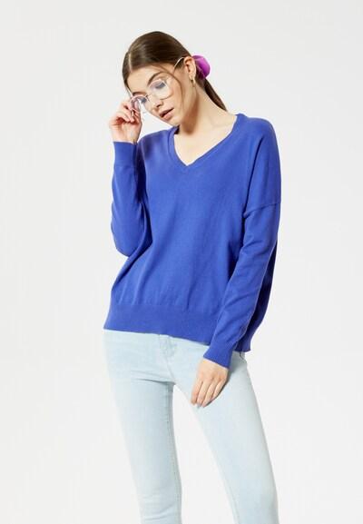MYMO Trui in de kleur Violetblauw: Vooraanzicht