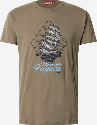 Derbe Shirt 'Fregatte' in oliv, Produktansicht
