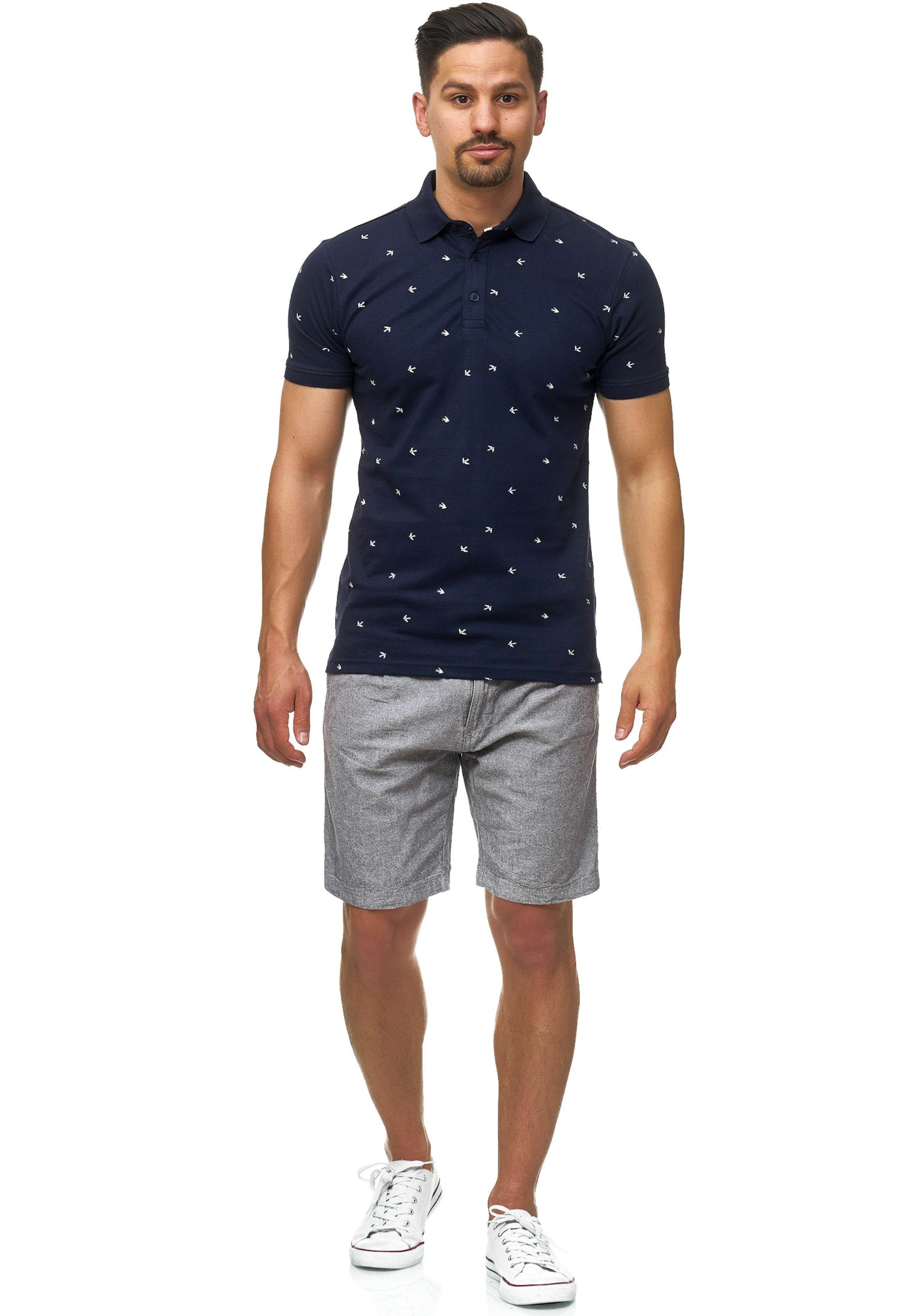 En GentianeBlanc Jeans T Indicode shirt 'hampden' 4R5AjL