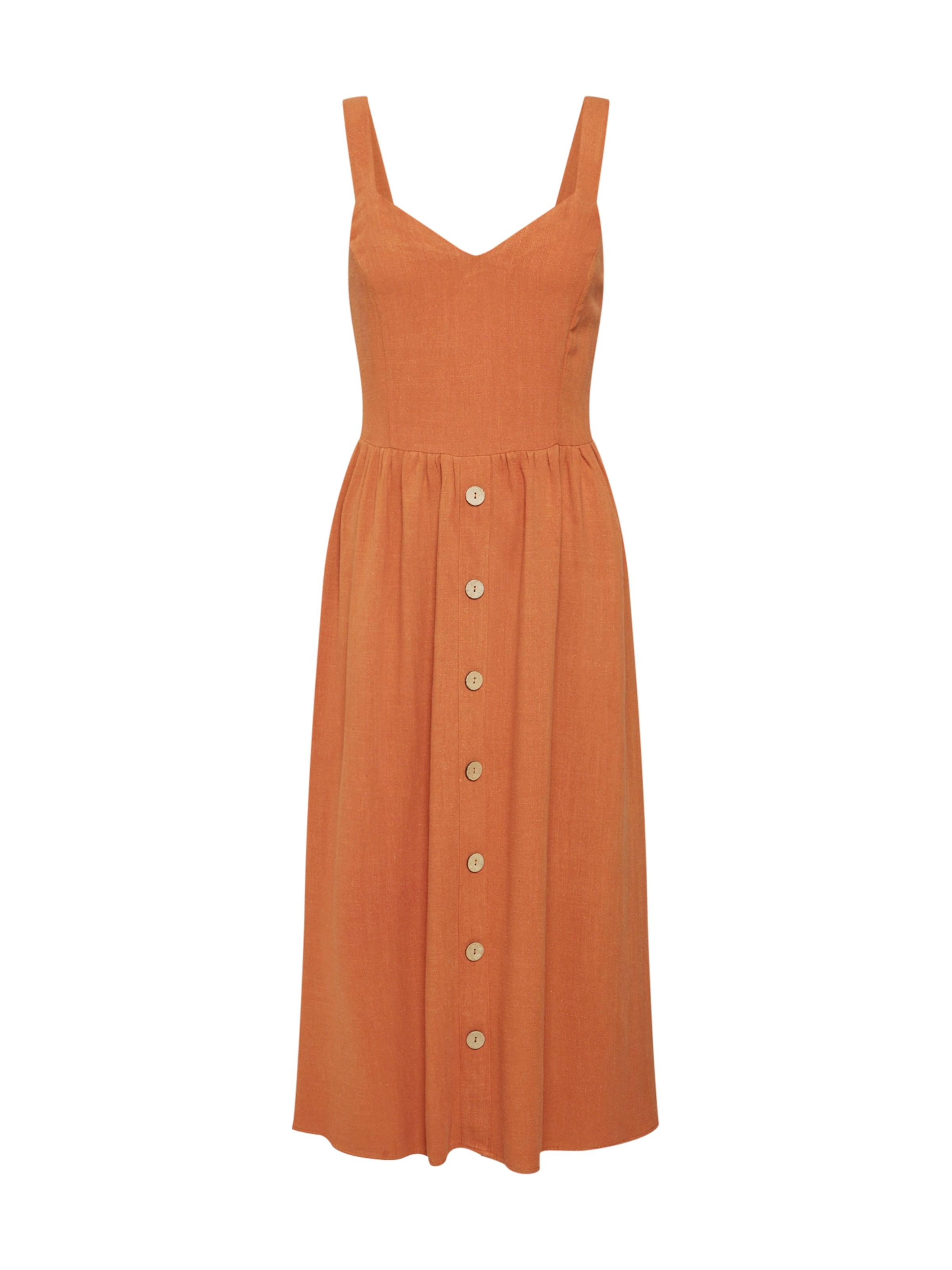 New In Rostrot Look Kleid N0Ow8Pyvmn