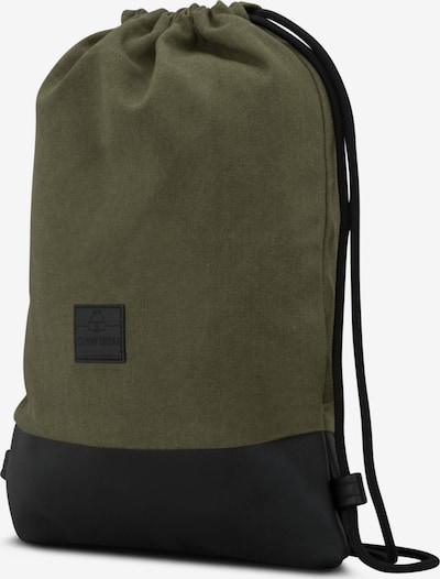 Krepšys-maišas 'Luke' iš Johnny Urban , spalva - žalia / juoda: Vaizdas iš šono
