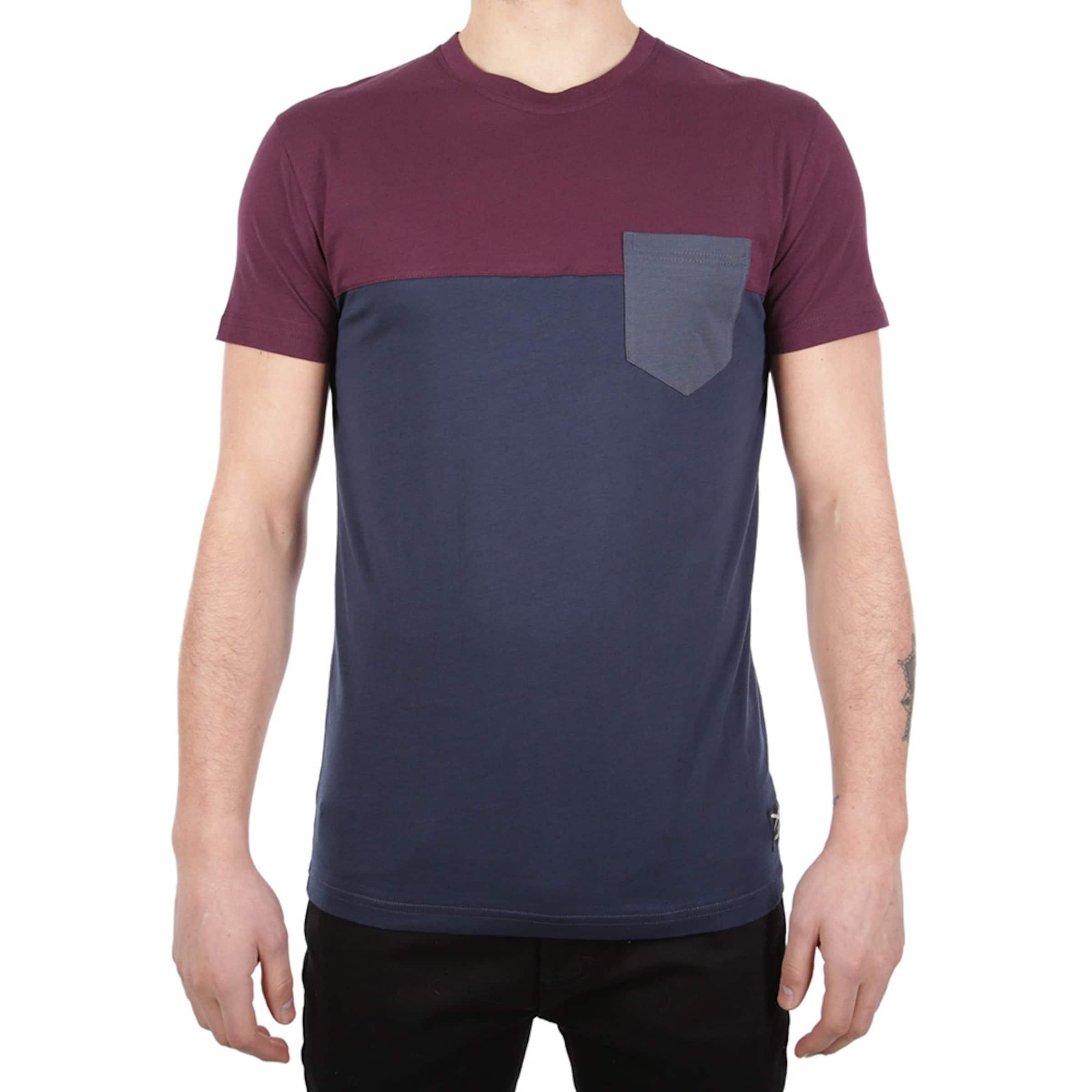 MarineBordeaux Bleu shirt En Iriedaily T lJc1TF3K