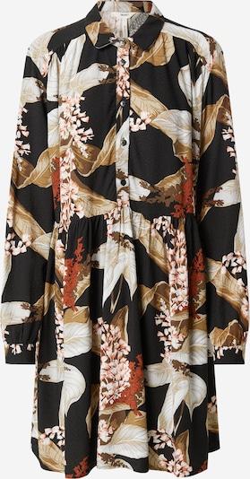 Rochie tip bluză 'OBJLILITI' OBJECT pe culori mixte / negru, Vizualizare produs