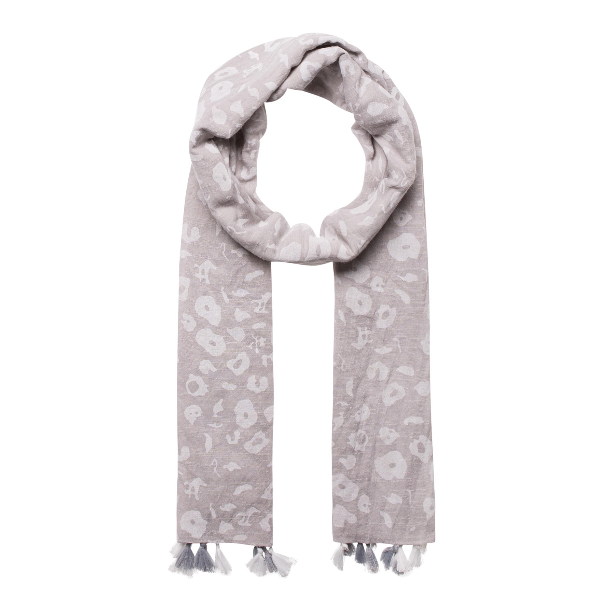 Einkaufen Outlet Online CODELLO Schal mit Bommeln Amazon Günstiger Preis Auslass Gute Qualität HE3tMpPx