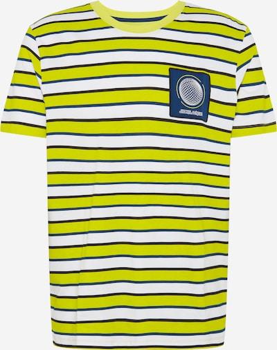 JACK & JONES T-Shirt 'RELIEF ' en jaune, Vue avec produit