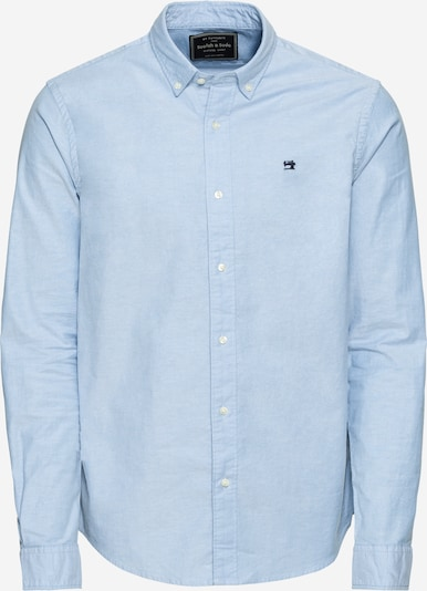 SCOTCH & SODA Hemd 'NOS Shirt with contrast details' in hellblau, Produktansicht