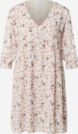 Hailys Robe 'Silvia' en beige / bleu pastel / rose, Vue avec produit