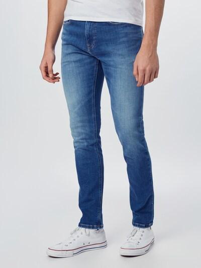 Tommy Jeans Jean 'AUSTIN' en bleu denim, Vue avec modèle
