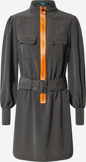 GUESS Kleid 'Virginia Dress' in grau / orange, Produktansicht