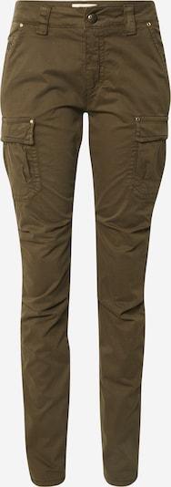 MOS MOSH Kargo hlače 'Cheryl Cargo Reunion' | temno zelena barva, Prikaz izdelka