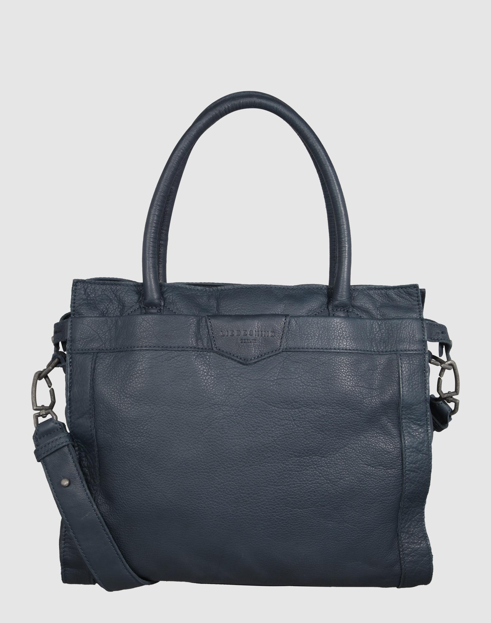 liebeskind berlin handtasche 39 glory7 39 in blau about you. Black Bedroom Furniture Sets. Home Design Ideas