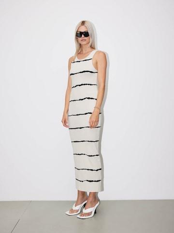 LeGer White Tie-Dye Dress Look