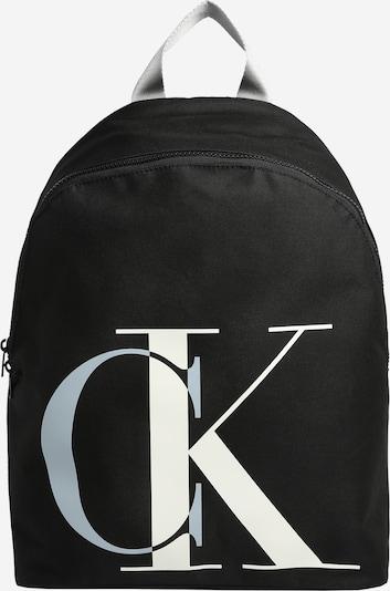 Calvin Klein Jeans Ruksak u crna / bijela, Pregled proizvoda