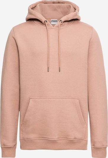 Urban Classics Sweat-shirt 'Basic Sweat Hoody' en rosé, Vue avec produit