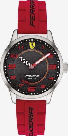 Scuderia Ferrari Uhr 'Pitlane' in rot / silber: Frontalansicht