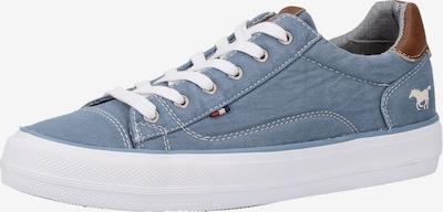MUSTANG Sneaker in himmelblau / weiß, Produktansicht