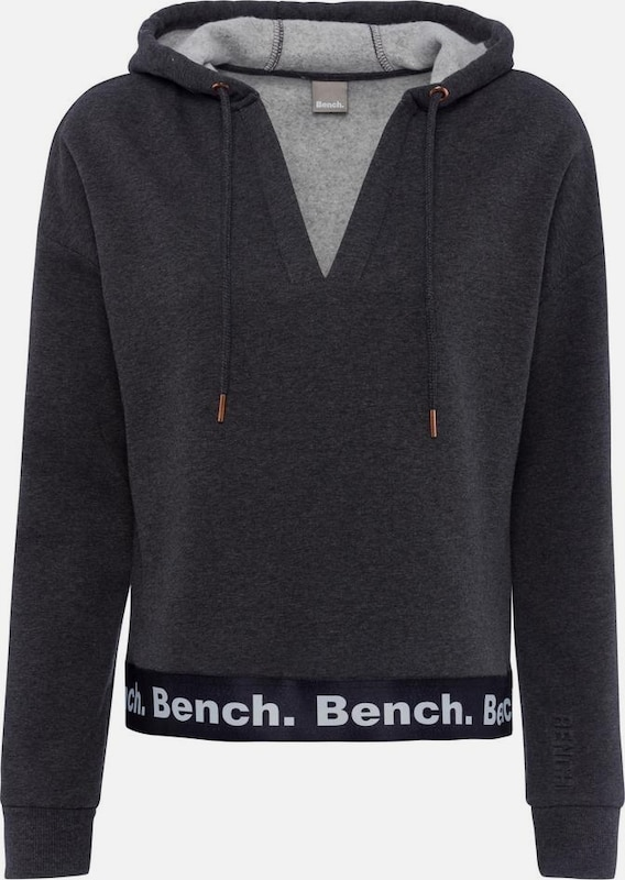BENCH Sweatshirt in anthrazit, Produktansicht