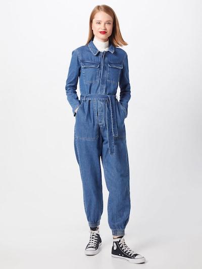 ONLY Jumpsuit 'SISSY BOILER' in blue denim, Modelansicht