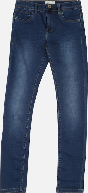 NAME IT Jeans 'NKMTHEO DNMTHAYER' in blue denim, Produktansicht