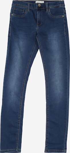 NAME IT Jeans 'NKMTHEO DNMTHAYER' in blue denim: Frontalansicht