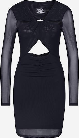 Parallel Lines Robe en noir, Vue avec produit