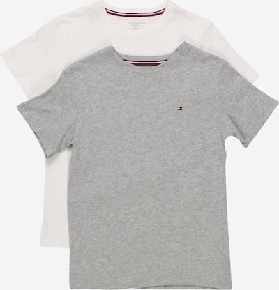 Tommy Hilfiger Underwear Schlafshirts in grau / weiß, Produktansicht