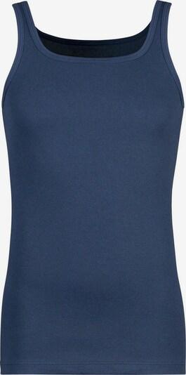 HUBER Unterhemd in marine: Frontalansicht