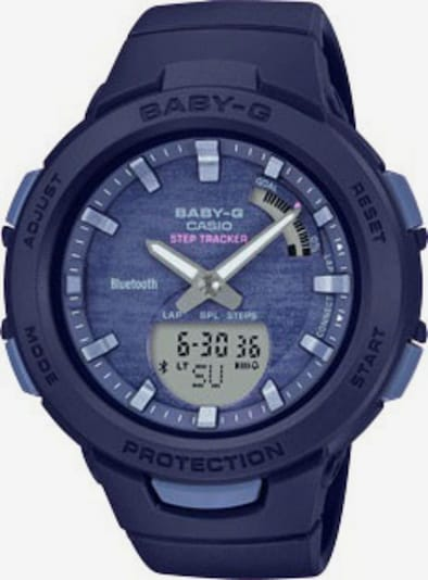 CASIO Smartwatch in dunkelblau, Produktansicht