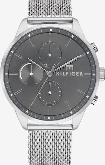 TOMMY HILFIGER Multifunktionsuhr 'CASUAL' in schwarz / silber, Produktansicht
