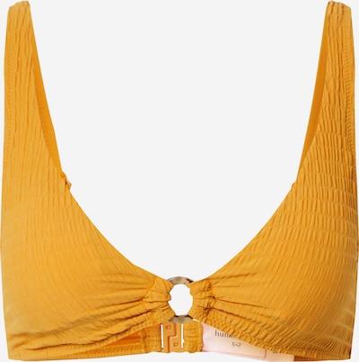 Hunkemöller Bikinitop 'Goldenrod' in dunkelgelb, Produktansicht