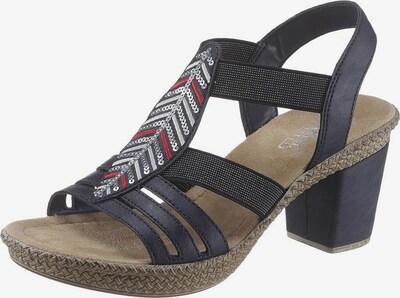 RIEKER Sandalette in dunkelblau, Produktansicht