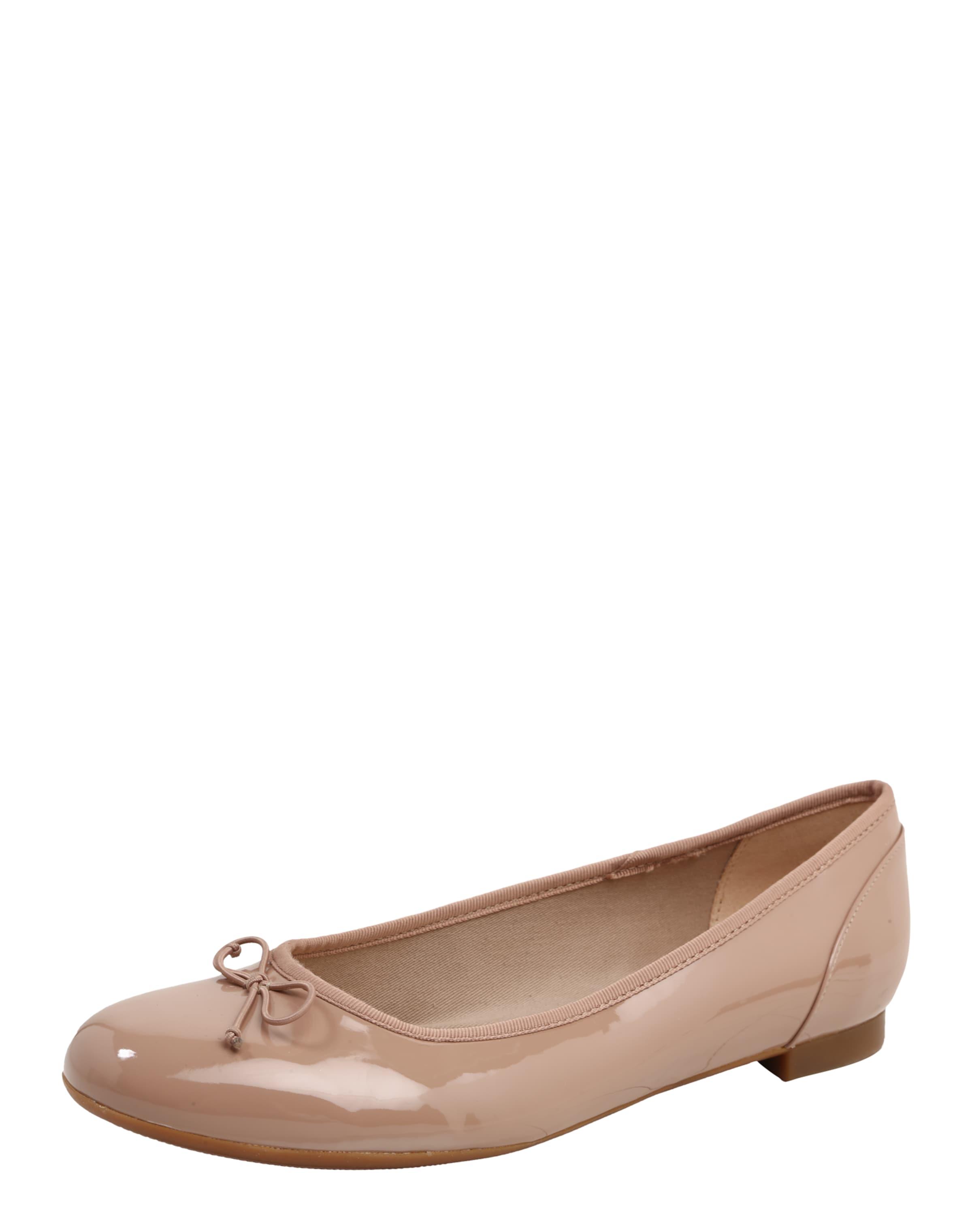 CLARKS Ballerina 'Couture bloom' mit Schleife Wählen Sie Eine Beste Online Heißen Verkauf Günstig Online Verkauf Perfekt Niedriger Versandverkauf Online dER6MK